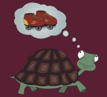 Turtle - Dreaming of speed by Scatz