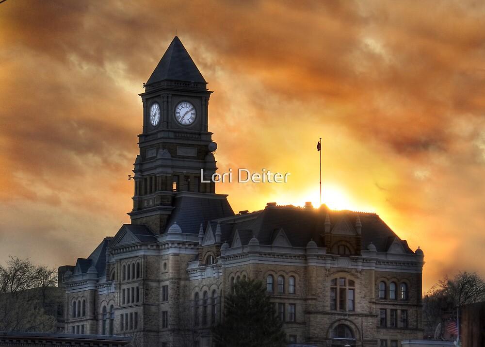 Pottsville Courthouse by Lori Deiter