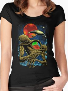 WAR OF THE WORLDS Women's Fitted Scoop T-Shirt