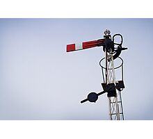 Signal in thirds Photographic Print