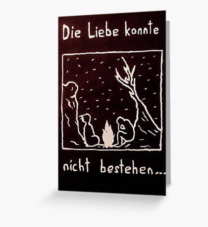 Die Liebe Greeting Card