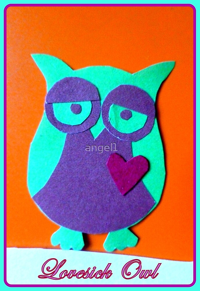 Lovesick Owl by ©The Creative  Minds