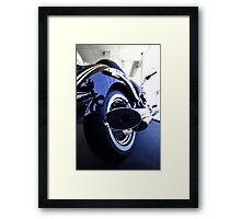 Quiet ... for now Framed Print