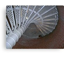 Stairs in Color Canvas Print