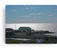 House on the Beach Canvas Print