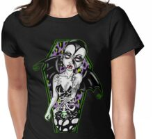 Hate the Living ,Love the dead Womens Fitted T-Shirt