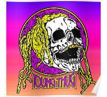 Young thug skull Poster