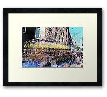 P1400043 _45 _47 _49 _Luminance _Iographica _GIMP Framed Print