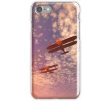The missing man formation as a Memorial Day tribute. iPhone Case/Skin