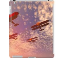 The missing man formation as a Memorial Day tribute. iPad Case/Skin