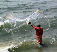 A Cochin Fisherman by Gillian  Ford