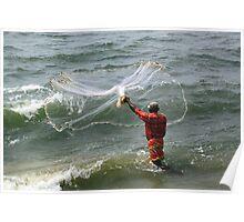A Cochin Fisherman Poster