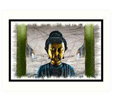 Buddha - At Peace Art Print