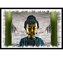 Buddha - At Peace Photographic Print