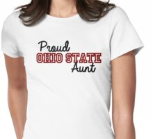 Proud Ohio State Aunt Womens Fitted T-Shirt