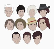 The Eleven Doctors by bluedisc