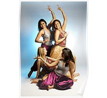 Bollywood dancers Poster
