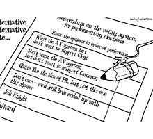 Alternative Alternative Vote... by Alex Hughes