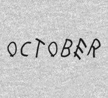 Drake October by iamacreator