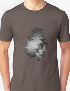 Abstract Black & White Unisex T-Shirt