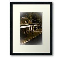 London tube station Framed Print