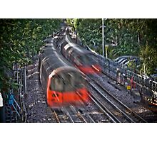 London red tube Photographic Print