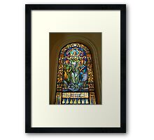 Blessed Are The Meek for They Shall Inherit The Earth. Framed Print