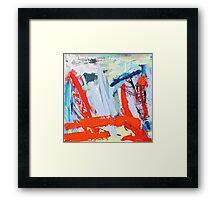 Landscape study T Framed Print