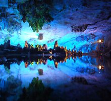 Reed Flute Cave, Guilin, China by Ashley Zeigler