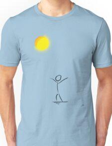 The sun. Unisex T-Shirt