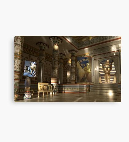 In Egypt Canvas Print