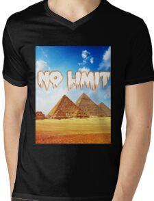No Limit Pyramid  Mens V-Neck T-Shirt
