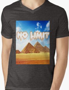 No Limit Pyramid  Mens V-Neck T-Shirt