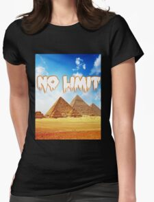 No Limit Pyramid  Womens Fitted T-Shirt