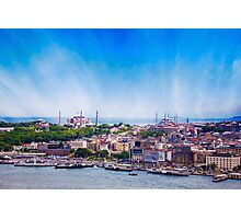Breathtaking Istanbul & The Golden Horm Photographic Print
