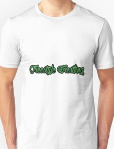 Freestyle Wrestling Green  T-Shirt