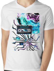 musicboom Mens V-Neck T-Shirt