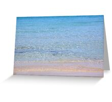 Bright and clear Greeting Card