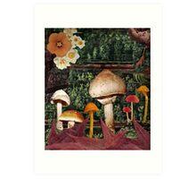 Magic Forest II Art Print