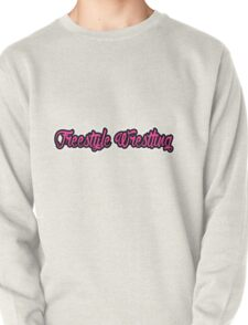 Freestyle Wrestling Pink Pullover