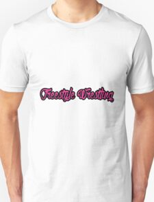 Freestyle Wrestling Pink T-Shirt