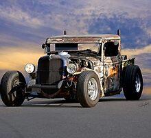 1934 Ford 'Dual Stack' Rat Pickup II by DaveKoontz