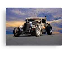 1934 Ford 'Dual Stack' Rat Pickup II Canvas Print