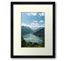 Lake View 2 Framed Print