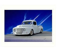 1948 Ford F1 Custom Pickup Art Print