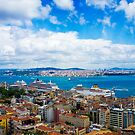 The Golden Horn of Amazing Istanbul, TURKEY by Bruno Beach