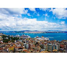 The Golden Horn of Amazing Istanbul, TURKEY Photographic Print