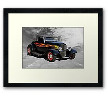 1932 Ford Roadster 'Traditional Hot Rod' Framed Print