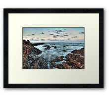Take Your Time For A Beautiful Day #3 (HDR) Framed Print
