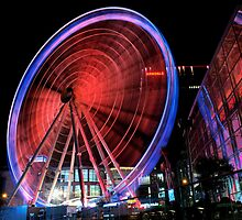manchester wheel.. by Michelle McMahon